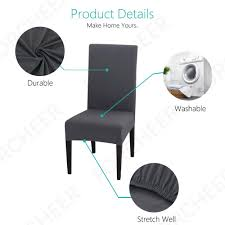 Decorative Chair Covers Amazoncom Lovwy Polyester Stretch Spandex Slipcover Chair Decorative Covers Efavormart 10pcs Silky Satin Universal Fits All Us 464 Cover Ding Seat For Wedding Party Decoration Removable Elastic Slipcover24in 20 Pc Ivory Folding Reception Homdox 100pcs White Spandexlycra Metal Plastic For Banquet 100pcs Polyester Spandex Whosale Fitted Cocktail Table Tablecloth Buy Tablecocktail Covertable Buybowie 4 Pcs Washable Slipcovers High Chairs Protective Print Cushion Decor 1pcs Hot Item Supplies Lycra Event Xymbc02