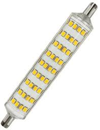 r7s base led bulb warm white 3000k 8w equiv 100w halogen