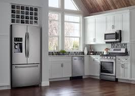 Samsung Refrigerator Leaking Water On Floor by Samsung 28 1 Cu Ft French Door Refrigerator With Thru The Door