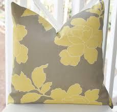 Decorative Outdoor Lumbar Pillows by Decorative Pillows Yellow Courtyard Garden And Pool Designs