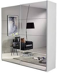 schwebetürenschrank bill weiß 2 türen b 181 cm jugendzimmer