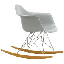 Eames RAR Rocking Chair, Light Grey - Chrome - Maple Danish Modern Rocking Chair Light Grey Upholstery For Inspiring Design Ideas On The Balcony Stock Image Of Background Bluegreenpainted Porch Sale Number 3023t Christopher Knight Home 301988 Bethany Mid Century Fabric Walnut Katell Vida Living Carla Chairlight Wildridge Heritage Double Traditional Rocker Cult Stanley In Dark Erland Gray Durogreen Classic Durogreen Outdoor