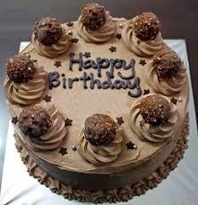 2017 Happy Birthday Chocolate Cake Image 1547—