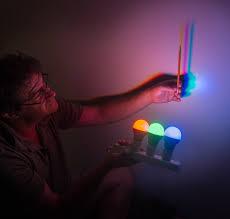 colored shadows light color science activity exploratorium
