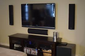 Polk Ceiling Speakers India by Rike255 U0027s Home Theater Gallery New Wall Mounted Home Theater 44