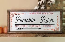 Caledonia Pumpkin Patch by Pumpkin Patch Sign Pumpkin Patch Decor Fall Signs Autumn