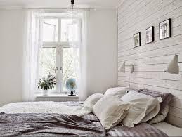 chambre bois blanc lambris bois blanc inviter le style cagne chic à la maison