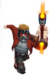 Star Lord Animated Render 02