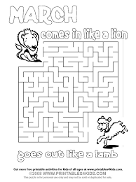 Coolest Coloring March Pages Printable In Eassume