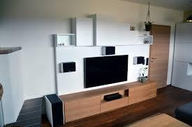 wohnzimmer eiche weiß 9016 integrierte dolby surround