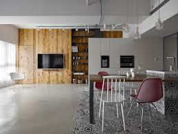 100 Kc Design Casa Con Piastrelle Esagonali E Pannelli In Legno Di Cedro By KC