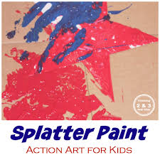 Kids Will Love This Fun Independence Day Art Activity Its Action That Involves Dropping