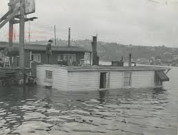 James Horner The Sinking by Saltwater People Log 1944 Lake Union House Sinking