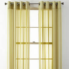Jcpenney Green Sheer Curtains by Green Sheer Curtains For Window Jcpenney