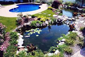 Backyard Pool And Ponds With Pathway - Outdoor Pond Landscaping ... Beautiful Backyard Ponds And Water Garden Ideas Pond Designs That 150814backyardtwo022webjpg Decorating Pictures Hgtv 13 Inspirational Garden Society Hosts Tour Of Wacos Backyard Ponds Natural Swimming Pools With Some Plants And Patio Design In Ground Goodall Spas Small Pool Hgtvs Modern House Homemade Can Add The Beauty Biotop From Koi To Living Photo Home Decor Room Stunning Landscaping