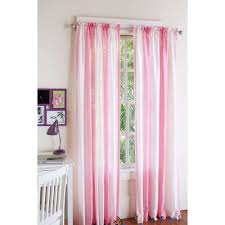 Purple Sheer Curtains Walmart by Your Zone Crushed Ombre Girls Bedroom Curtains Walmart Com