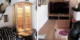 wohnzimmerschränke aus gebürsteter fichte