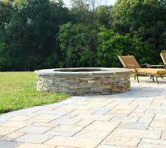 Patio Blocks Walmart Landscape Unique Fire Pits Outdoor Stone Pit Seating Wall Lights Picture