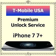 Unlock Iphone T Mobile Premium Unlock Service T Mobile 7 7 All
