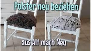 stühle neu beziehen anleitung tipps heimwerkertricks net