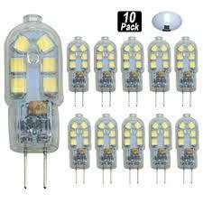 pocektman 2w g4 led bulb bi pin base transparent 20w