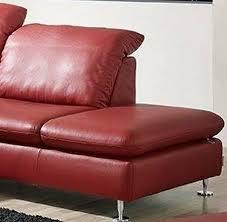ottomane canapé canapé d angle lineflex 4 places avec retour ottomane en cuir ou