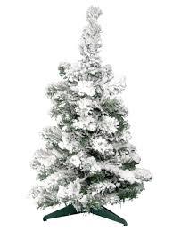 Christmas Tree Flocking Spray Uk by Flocked White Table Top Tree 60cm Christmas Trees The