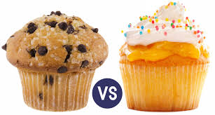 TS On Muffins And Cupcakes A View The Difference Between