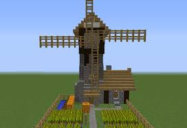 Minecraft Pumpkin Farm Tower by Medieval Windmill Farm House Grabcraft Your Number One Source
