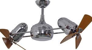metropolitan dual motor ceiling fan in oil rubbed bronze dans head