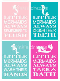 Little Mermaid Bath Decor by 56 Best Mermaid Bathroom Images On Pinterest Beach Theme Nursery