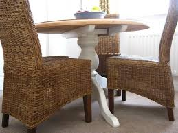 Stunning One Off Farrow And Ball Table With 4 Colonial Wicker Chairs In  Excellent Condition. | In Darlington, County Durham | Gumtree