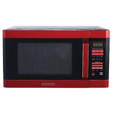 BLACK DECKER 16 Cu Ft 1100W Microwave Oven Red Target