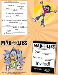 Halloween Mad Libs by Printables U2013 Mad Libs