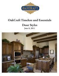 Oakcraft Cabinets Phoenix Az by Oakcraft Door Brochure By Todd Redfern Issuu