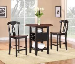Round Kitchen Table Sets Walmart by Furniture Wonderful Bistro Indoor Dining Sets Round Bar Table 3