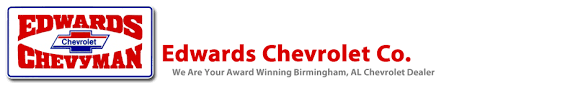 Edwards Chevrolet Co is a Birmingham Chevrolet dealer and a new