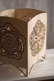 Laser Cut Lamp Shade by Best 25 Laser Cut Lamps Ideas On Pinterest Paper Lampshade