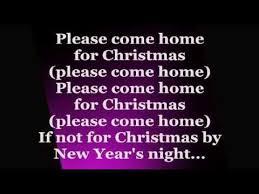 Jon Bon Jovi Please e Home For Christmas Lyrics