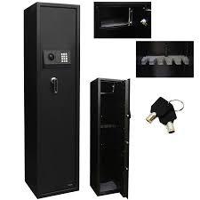Steel Gun Cabinet Walmart by 5 Rifle Safe Box Gun Storage Electronic Pin Digital Keypad Lock