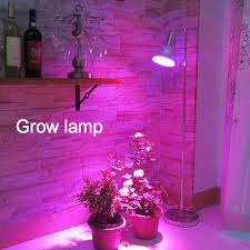 red and blue growth Floor standing Lamp plant grow light for