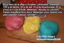 comment faire de la pâte à modeler mangeable