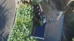 100 Blazer Truck Semitruck Plunges Into Pool Owned By Portland Trail
