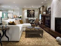 dining room candice olson living room design with l shaped white