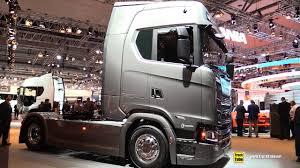 100 Scania Trucks 2019 S650 A4x2 650hp 16L V8 Tractor Exterior And Interior