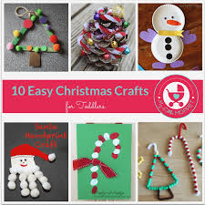 Simple Christmas Crafts Fresh 10 Easy For Toddlers