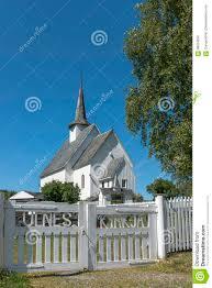100 Ulnes Europe Norway Kyrkje Church Editorial Stock Image