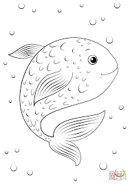 Click The Cartoon Fish Coloring Pages To View Printable