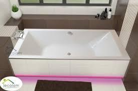 badewanne rechteck borneo 200 x 90 cm led