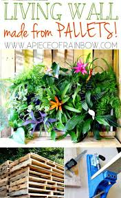 Another Outstanding And Brilliant Looking Wooden Pallet Garden Project That Will Definitely Grab Your Attention Complete Instructions Tutorial